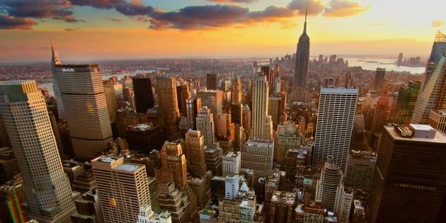 Из Москвы в Нью Йорк