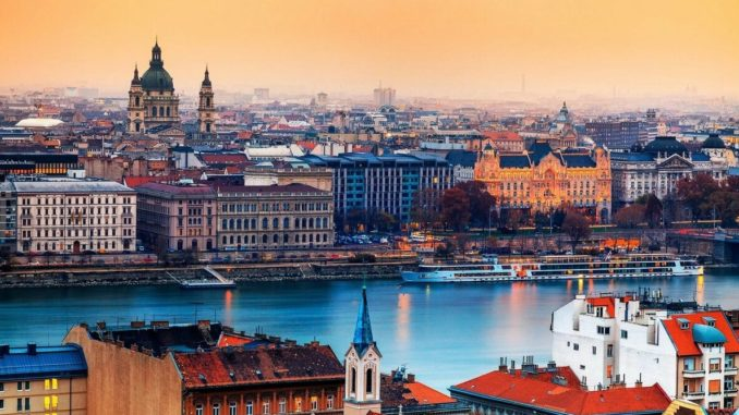 Из Санкт-Петербурга в Будапешт