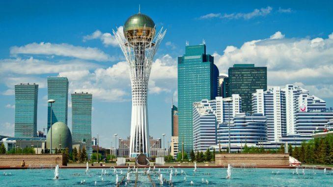 в столицу Казахстана из Москвы