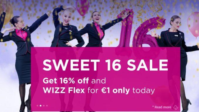Распродажа Wizz Air