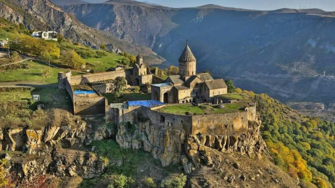 Из Москвы в Армению